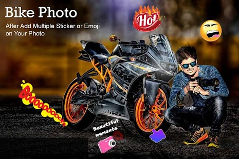 Bike Photo Editor Screenshot