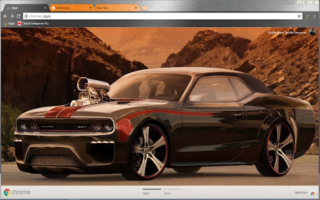 Dodge Challenger With Bds Blowers Car