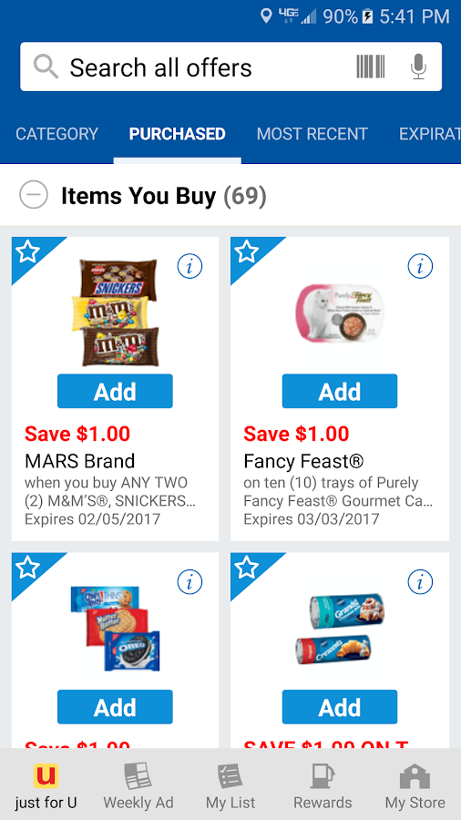 Albertsons digital coupons