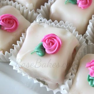 Petit Four Icing Recipes.