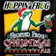Logo of Hoppin' Frog Frosted Frog Christmas Ale
