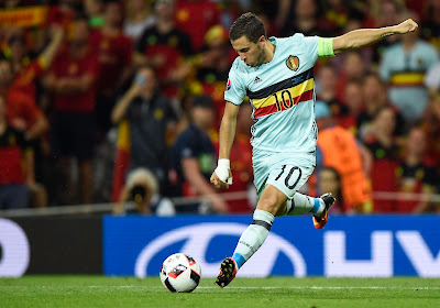 La composition des Diables face au Danemark : Eden Hazard absent, Axel Witsel capitaine