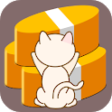Eligible savings of cat icon