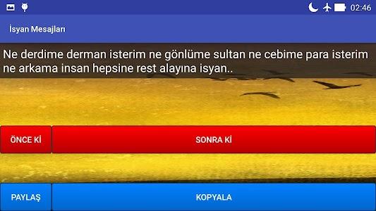 İsyan Mesajları screenshot 4