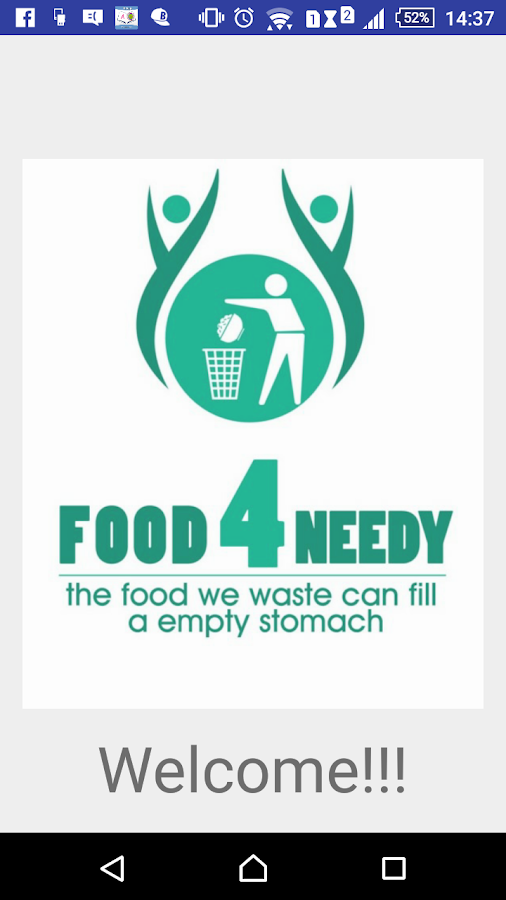 Food 4 needy- screenshot