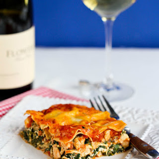 Chicken and Spinach Lasagna Recipe