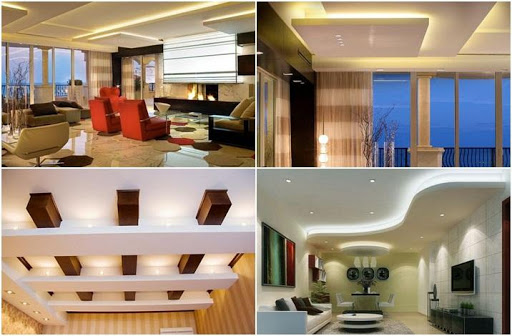 Gypsum Ceiling Decorating