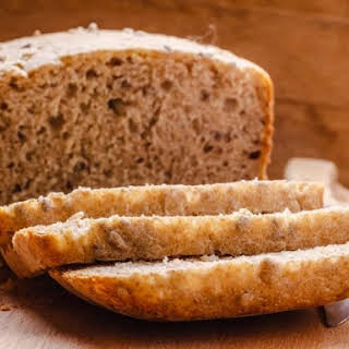 Basic Bread Machine Whole Wheat Bread.