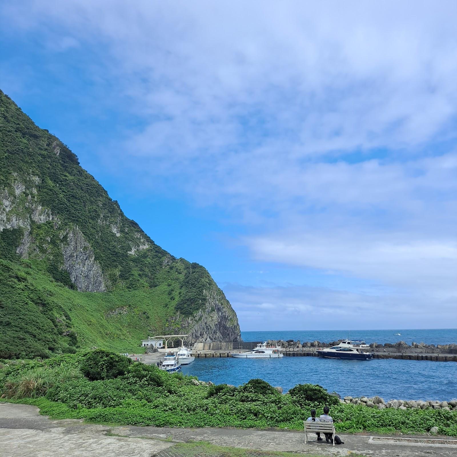 基隆嶼港口