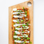 Sausage & Peppers Flatbread