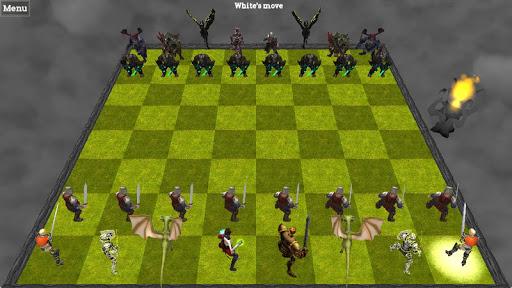 Chess 3D Spil til Android screenshot
