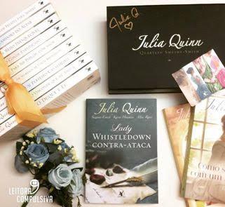 fotos e livros lady whistledown julia quinn blog leitora compulsiva