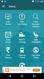 Indian Rail Info - náhled