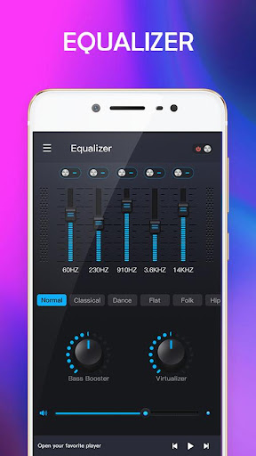 Music Equalizer - Bass Booster & Volume Up 1.0 screenshots 2