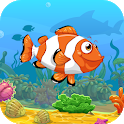 Sea Life Animated Keyboard + Live Wallpaper icon