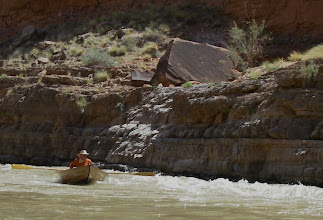 Photo: Doryman finds some white water.