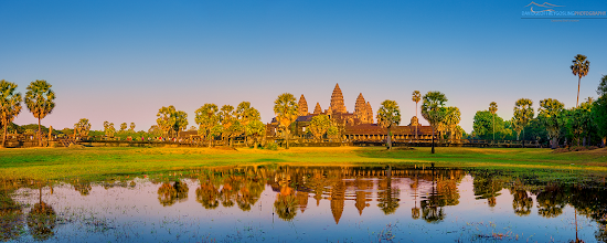 Photo: Sunrise at Angkor Wat