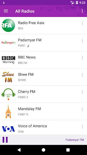 Myanmar eRadio 3.1.5 screenshots 2
