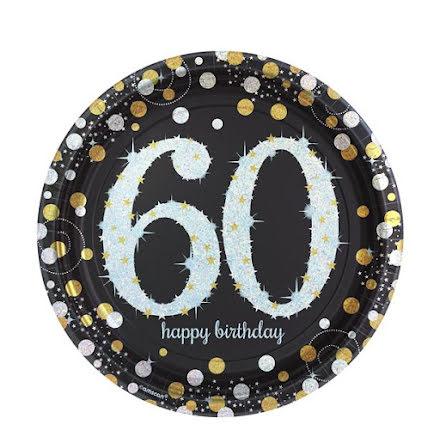 Tallrikar - Sparkling celebration 60