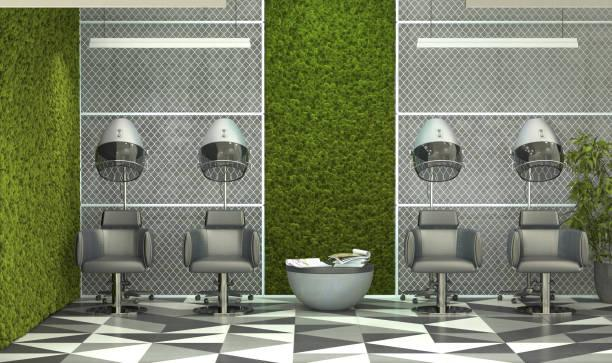 292 Hair Salon Interior Design Stock Photos, Pictures & Royalty-Free Images  - iStock
