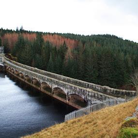 Loch Dam by Scott Hislop - Novices Only Landscapes ( scotland, perthshire, lochs, fort william, dam )