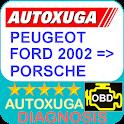 Peugeot, Ford, Porsche 3 scanner cars OBD2 ELM327 icon