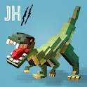 Jurassic Hopper 2: Crossy Dino World Shooter icon