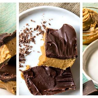 No Bake Sugar Free Peanut Butter Chocolate Bars Keto Recipe