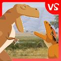 T-Rex Fights Allosaurus icon