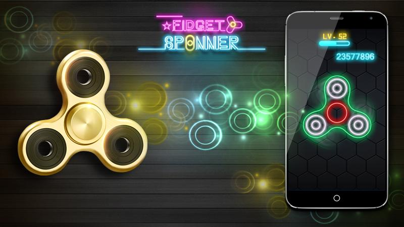 Fidget Spinner: captura de tela