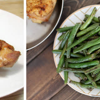 Dad's Spicy Green Beans.
