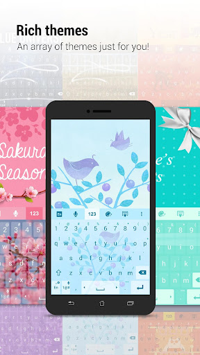 ZenUI Keyboard – Emoji, Theme screenshot 1