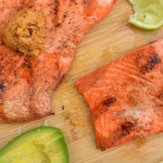 Grilled Salmon with Chipotle Butter