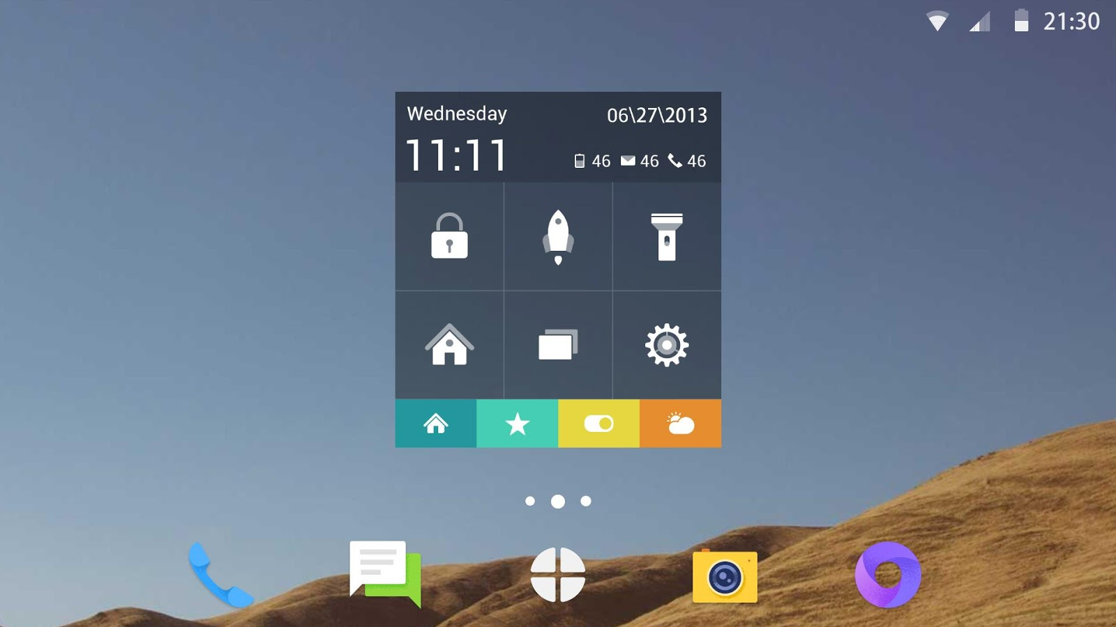 Toucher Pro: captura de pantalla