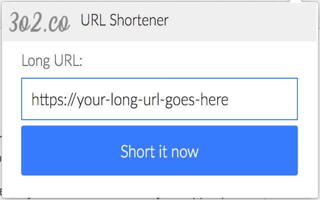3o2 - Headless URL shortener