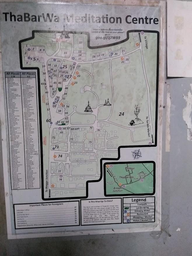 タバワセンターの周辺地図