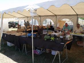 Photo: Quelques artisans vendaient leurs produits