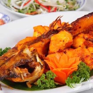 Vietnamese Grilled Whole Fish (Cá Nướng)
