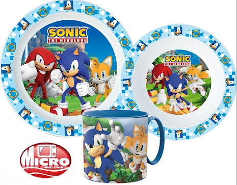 Måltidsset Sonic the Hedgehog