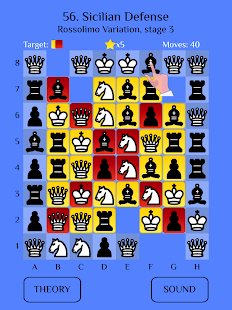 Chess Match: Sicilian defense - náhled