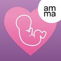 AMMA Pregnancy Tracker & Baby Due Date Calculator icon