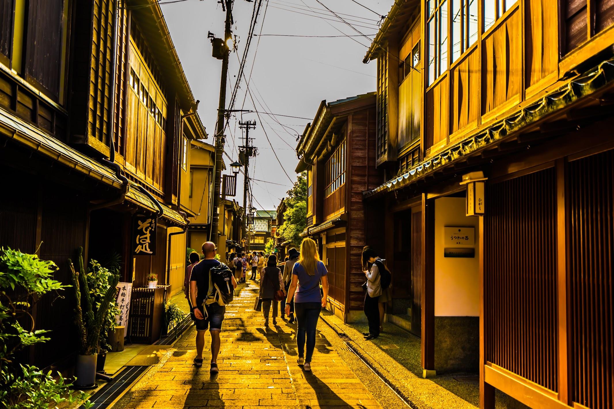 Kanazawa Higashi Chaya District3