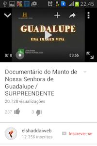 Nossa Senhora de Guadalupe screenshot 5