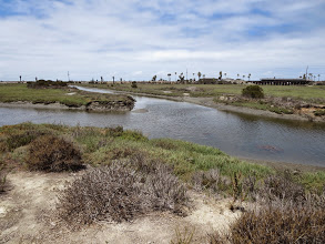 Photo: Lagoon and the ocean in the distance