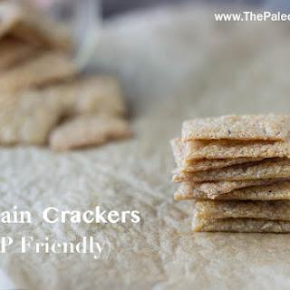 Plantain Crackers (Nut-free, Egg-free)