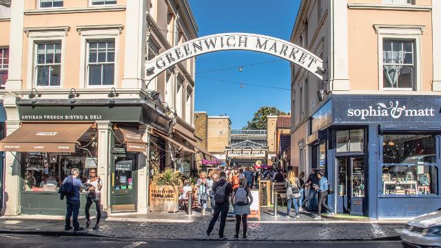 Greenwich Market - Antiques Market - visitlondon.com