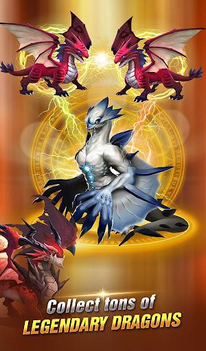 Dragon Epic - Idle & Merge - Arcade shooting game screenshots 1