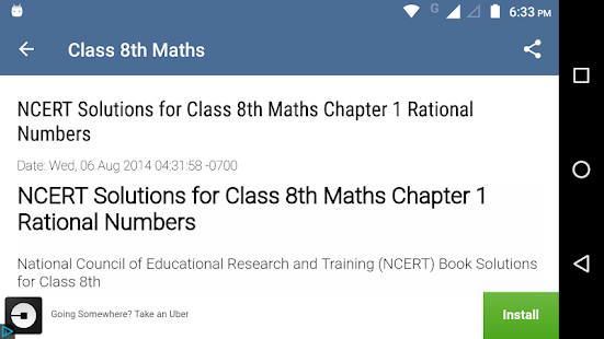 8th Maths NCERT solutions - náhled