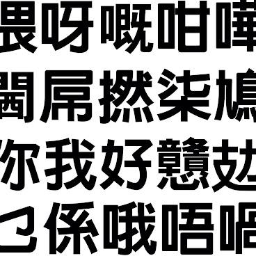 香港字療 Hong kong fontatherapy 全套