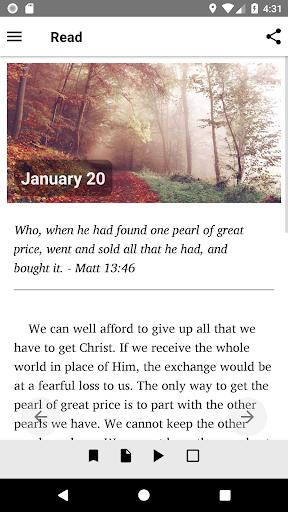 Mornings With God - Lite 4.54.0 screenshots 3